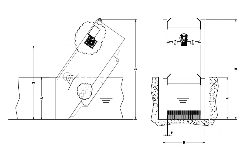 Механическая решетка-дробилка типа монстр молотковая дробилка для зерна в Усолье-Сибирское
